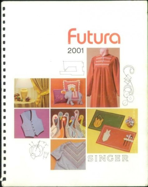 Singer 2001 Futura Sewing Machine Manual