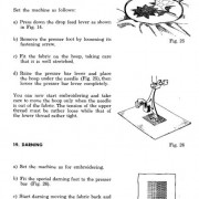 Necchi 510 Lelia Sewing Machine Instruction Manual