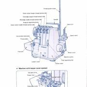 Singer 14U11 & 14U13 Sewing Machine Manual