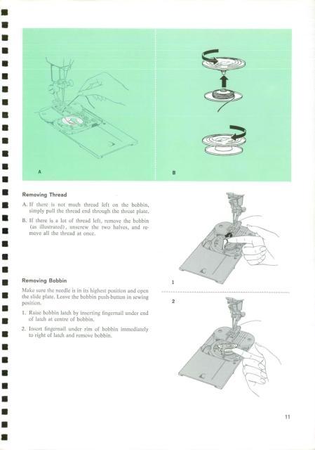 singer sewing machine manuels