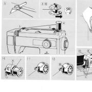 Elna 450 Sewing Machine Instruction Manual
