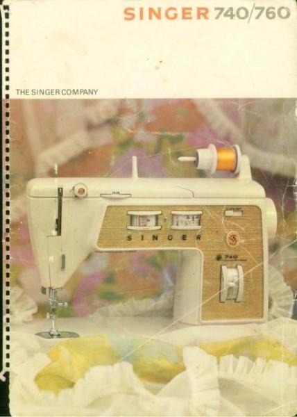 Singer 760 Sewing Machine Instruction Manual