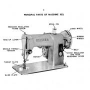 Singer 185J Sewing Machine Instruction Manual