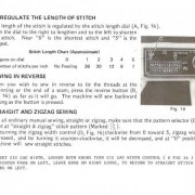 Dressmaker 7000 Sewing Machine Instruction Manual