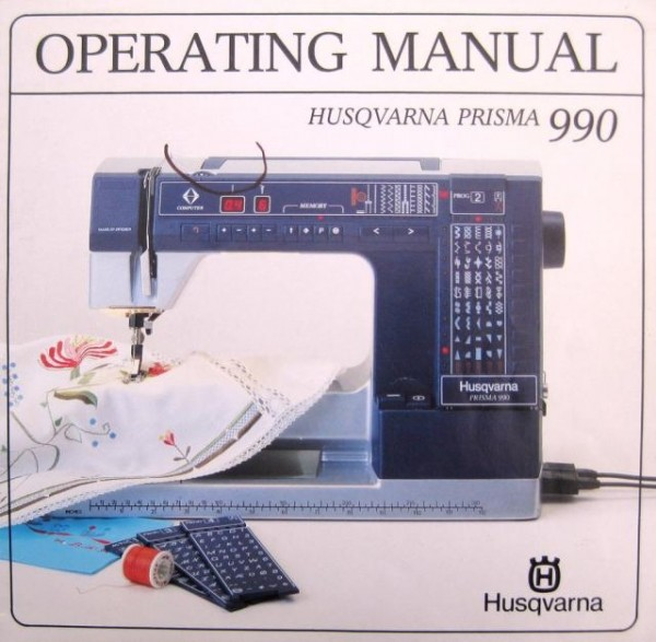 Viking 990 Prisma Sewing Machine Instruction Manual