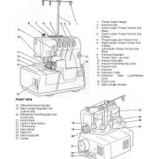 Simplicity Easy Lock SL370 Serger Manual