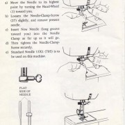 White 423R Sewing Machine Instruction Manual