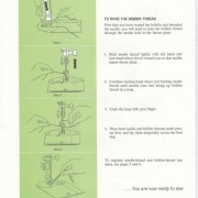 Singer 609 Sewing Machine Instruction Manual