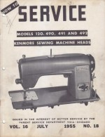 Kenmore 120.490 Sewing Machine Service Manual