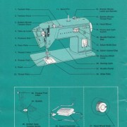 Singer 417 Sewing Machine Instruction Manual