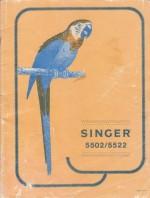Singer 5502 - 5522 Sewing Machine Instruction Manual