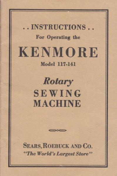kenmore sewing machine troubleshooting manual