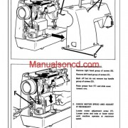Singer Genie 353 Adjusters and Problem Solving Sewing Machine Manual