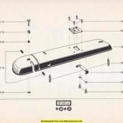 Bernina 700 Class Sewing Machine Parts Manual