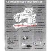 Singer 778 - 758 Touch And Sew Sewing Machine Instruction Manual
