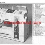 Bernina 930 Sewing Machine Instruction/Owners Manual Pdf