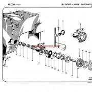 NECCHI MODEL 1960 BU Nora and Nora Automatica Parts Catalogue