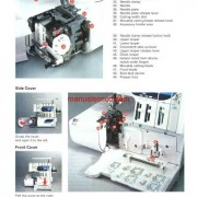 Elna 945 Overlock Sewing Machine Instruction/Owners Manual Pdf