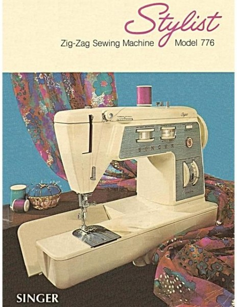 Singer Stylist Model 776 Sewing Machine Manual