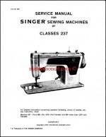 Singer 237 Service And Repair Manual Download