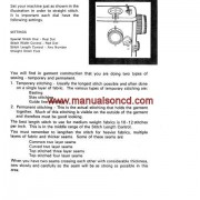 Kenmore Model 158.1020 - 1050 Series Sewing Instruction Manual