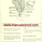 Kenmore Rotary Sewing Machine Manual 126781