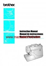 Brother PS-3700 Sewing Machine Instruction Manual Pdf