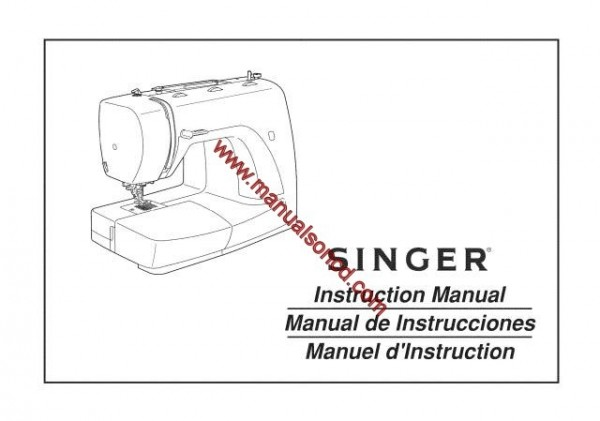 how to thread an elgin sewing machine