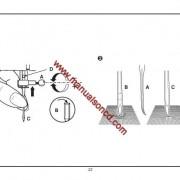 Euro-pro 8260 Sewing Machine Instruction Manual