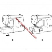 Euro Pro 6130A2 Sewing Machine Instruction Manual