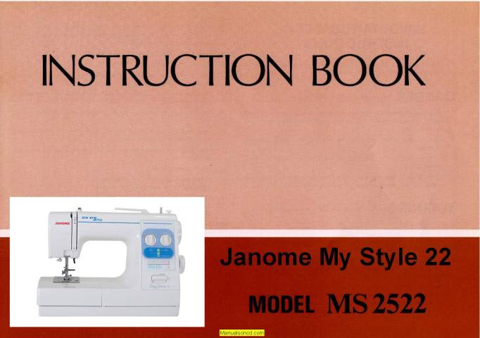 Janome Ms