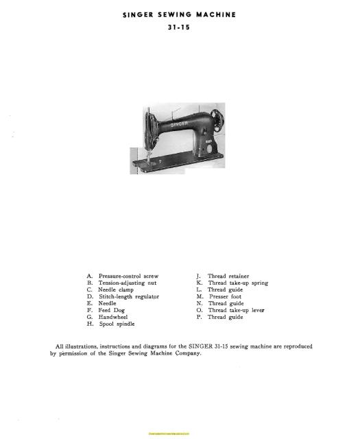 Singer 4040 Industrial Sewing Machine Manual Best How To Thread Euro Pro Sewing Machine