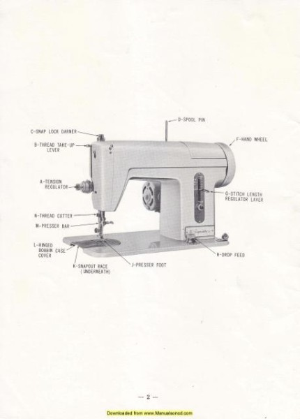 Montgomery Ward URR 240 Sewing Machine Manual
