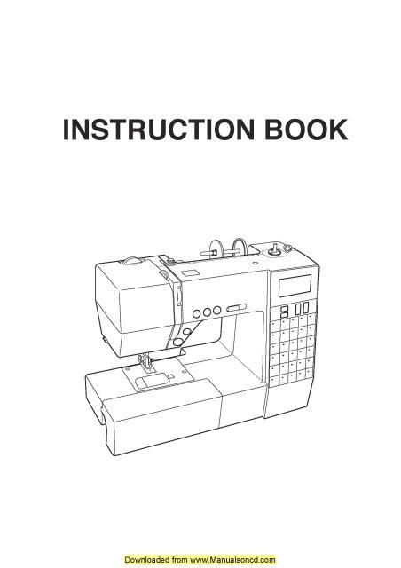 necchi sewing machine manuals