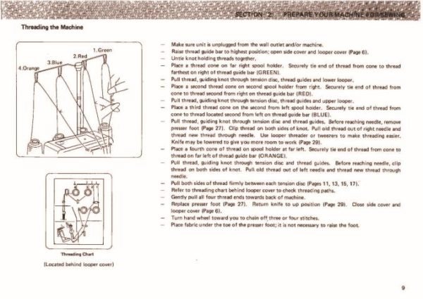 Janome 134D Sewing Machine Instruction Manual
