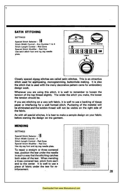 kenmore sewing machine manual free download