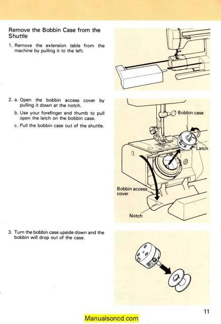kenmore sewing machine manuals 158