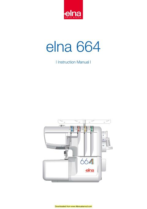 elna 664 sewing machine instruction manual rh manualsoncd com