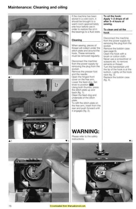 bernina 1630 inspiration plus sewing machine instruction manual rh manualsoncd com