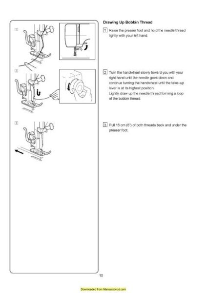 Elna Sew Fun Sewing Machine Instruction Manual