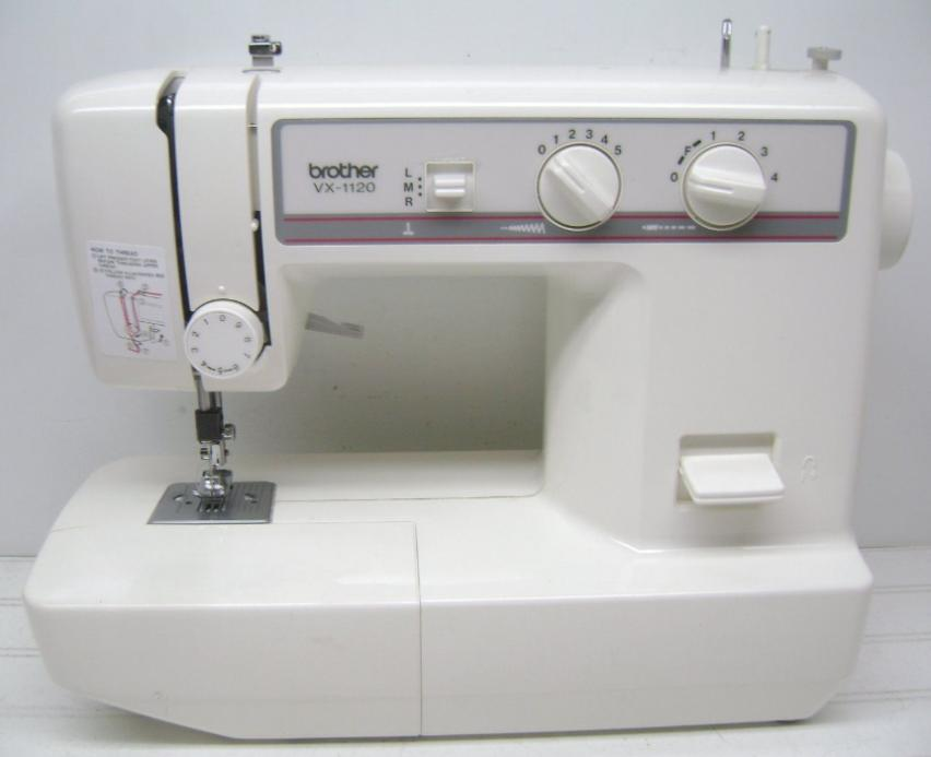 Brother vx-1120 sewing machine instruction manual.