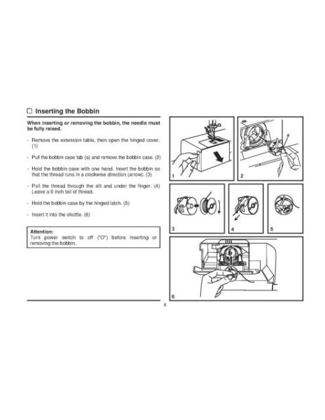 Singer 2273 Sewing Machine Instruction Manual