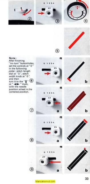 Elna SP ST SU Sewing Machine Instruction Manual Best Elna Su Sewing Machine