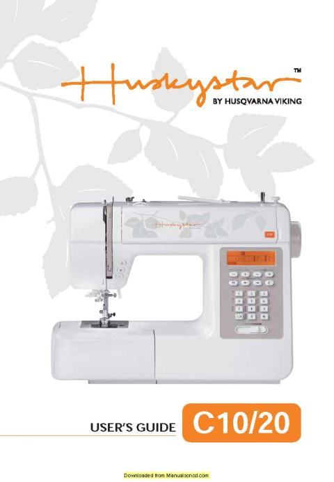 Huskystar C40 Sewing Machine Service Manual Enchanting Husqvarna Viking Huskystar 224 Sewing Machine