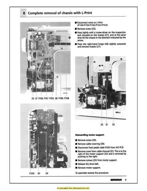bernina 1630 inspiration plus sewing machine service manual rh manualsoncd com