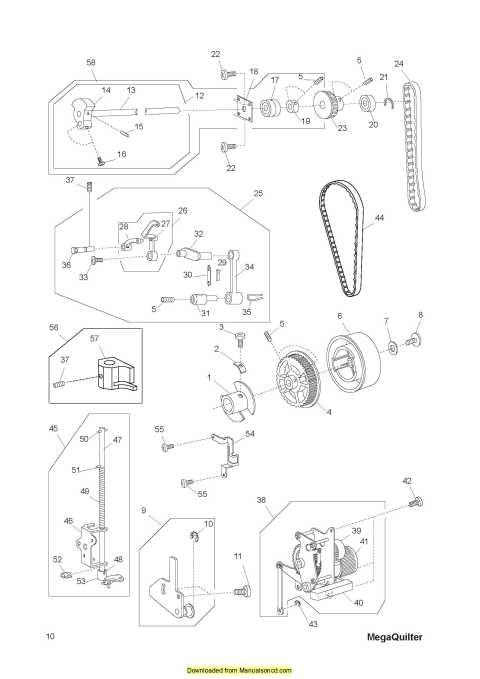 Husqvarna Viking Mega Quilter Service Manual Plus Parts Gorgeous Husqvarna Viking Sewing Machine Repair Manual