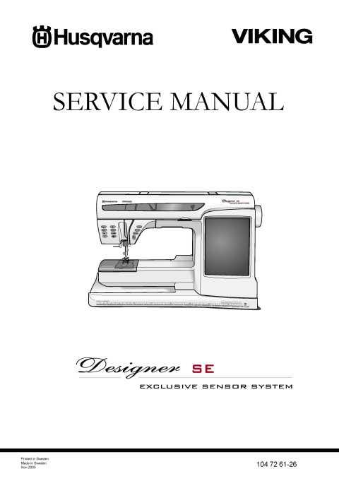 Mnl-1374] husqvarna designer se service manual | 2019 ebook library.