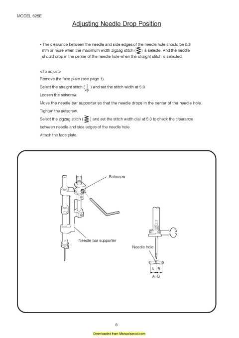 Unit Parts Diagram And Parts List For Brother Sewingmachineparts