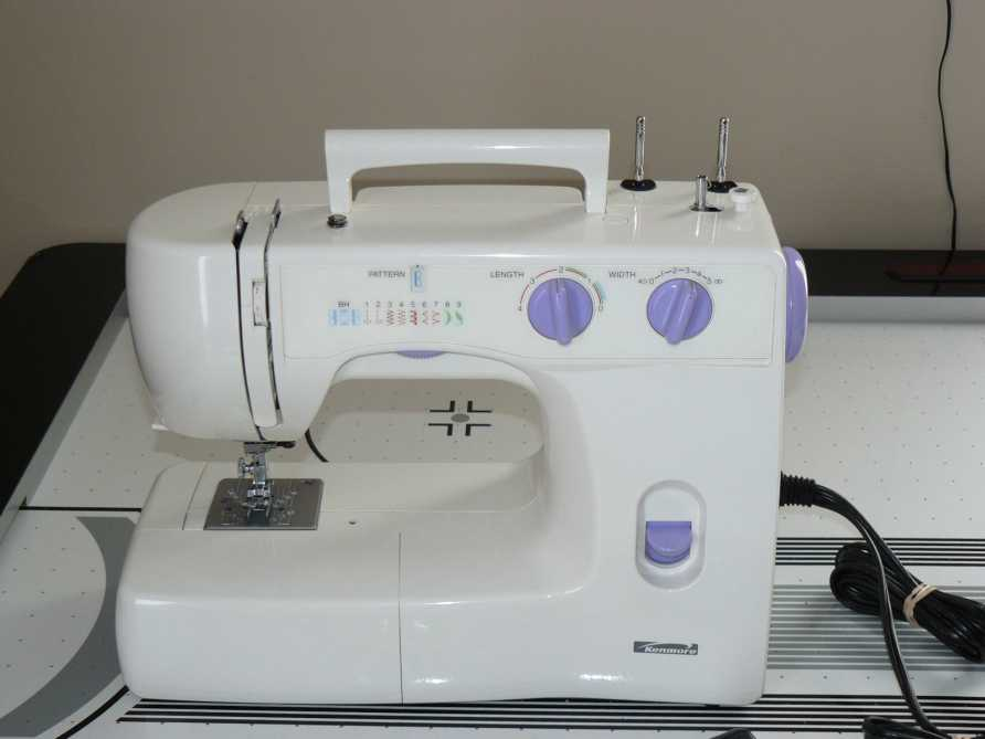 Kenmore 385.15208400 Sewing Machine Service Manual on