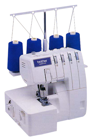 Brother 40D Serger Overlock Sewing Machine Instruction Manual Delectable Brother Serger Sewing Machine